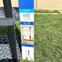 """Real Simple 35""""x72"""" Top-Down Bottom-Up Cordless Cellular Sha"""