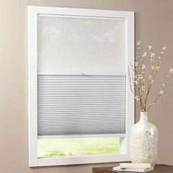 24 in. x 48 in. Cordless Day and Night Cellular Shade, Snow