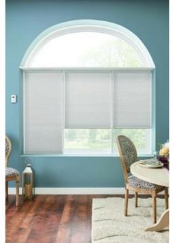 Bali 48 x 72 Inches White Light Filtering Window Cellular Sh
