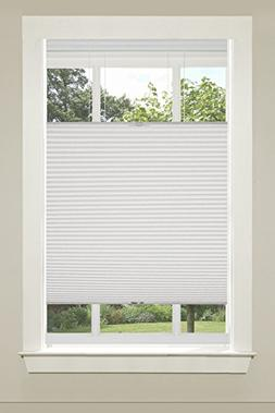 Top-Down Cordless Honeycomb Cellular Shade 33x64 White