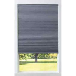 Allen + Roth Recycled Gray Blackout Cordless Cellular Shade