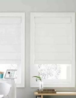 """Real Simple Cordless Day/Night Cellular 34"""" x 72"""" Shades Bla"""