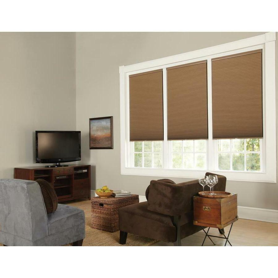 NEW ALLEN & ROTH BLACKOUT CORDLESS POLYESTER CELLULAR SHADE,
