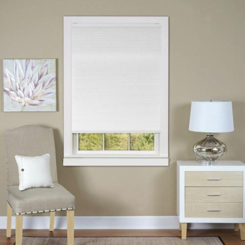 Light Cordless Shades Pleated Window Curtain