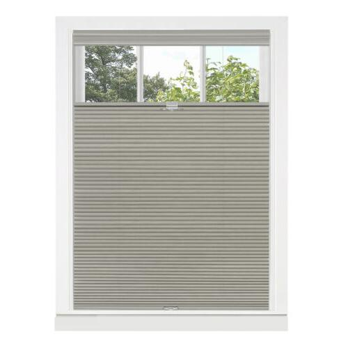 Top Down-Bottom Up Honeycomb Cellular Shade Dove