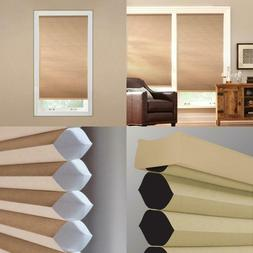 Latte 9/16 In. Cordless Blackout Cellular Shade - 54 In. W X