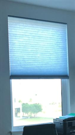 """NEW Clear Blue Sky Honeycomb 3/4"""" Cellular Cordless Shade -"""