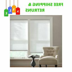 NEW White Cordless Light Filtering Cellular Shade For Home W
