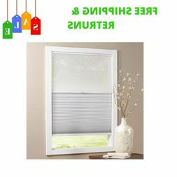 Shadow White Cordless Day And Night Cellular Shade With Ligh