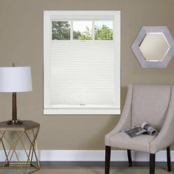 White Cordless Cellular Top-Down Bottom Up Honeycomb Pleated